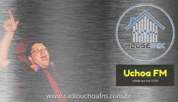 DJ Hugo Frinzi no Programa House Mix, da Uchoa FM